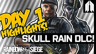 R6S: Caveira & Capitao Gameplay - Competitive Moments - Operation Skull Rain - Rainbow Six: Siege