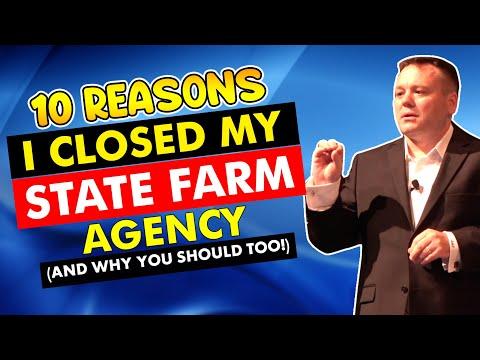 10 Reasons I Closed My State Farm Agency