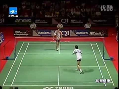 2003 World Badminton Championship MS Semi Final Game 1 - Malaysia Vs Korea
