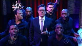 As 2017 Dawns, Stephen Colbert Suffers A Mariah Moment