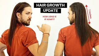 Hair Growth Update | How Long is My Hair Now?