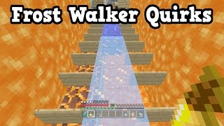 Minecraft Xbox One / PS4 - Frost Walker's Unexpected Behaviour