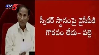 AP Assembly Session | Speaker Announces Notice to YCP Ambati Rambabu Over His Comments