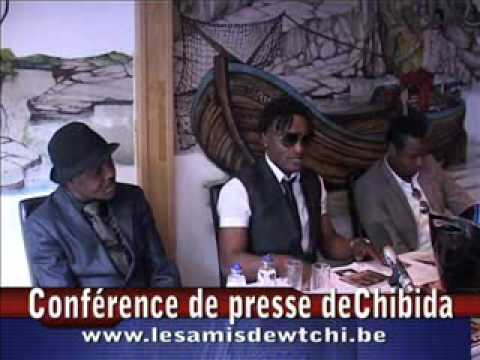 Conférence de presse de Chibida