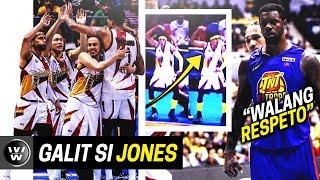 Terrence Jones, GALIT kay Santos | McCullough, Kampi kay TJ | SMB Beats TNT | PBA Finals Game 5