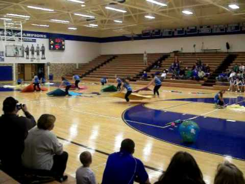 Carroll Jr Sr High School WinterGuard (Fireflies)