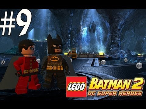 Lego Batman 2 - Walkthrough Part 9 Destination Metropolis