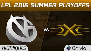 VG vs SS Highlights Game 1 Tencent LPL Summer 2016 Playoffs Tie Breaker Vici Gaming vs Snake