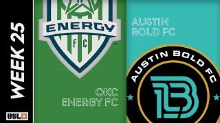 OKC Energy FC vs. Austin Bold FC August 24th, 2019