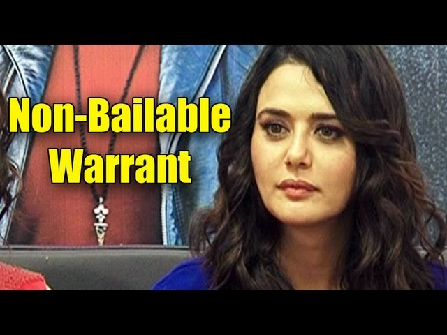 Preity Zinta gets a Non-bailable warrant issued against her