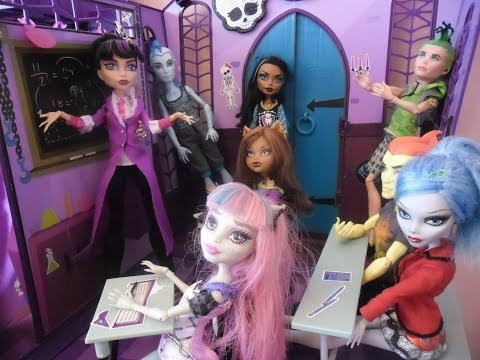 Monster High Mon Lycée d'Enfer