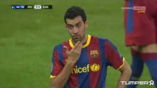 Mascherano, Pedro, Busquets - My face hurts