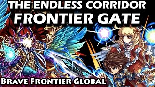 The Endless Corridor Frontier Gate Floor 96-100 Walkthrough (Brave Frontier Global)