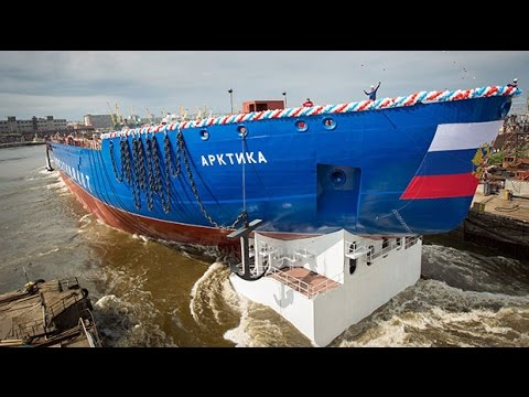 Russia floats out 'world's biggest' nuclear-powered icebreaker