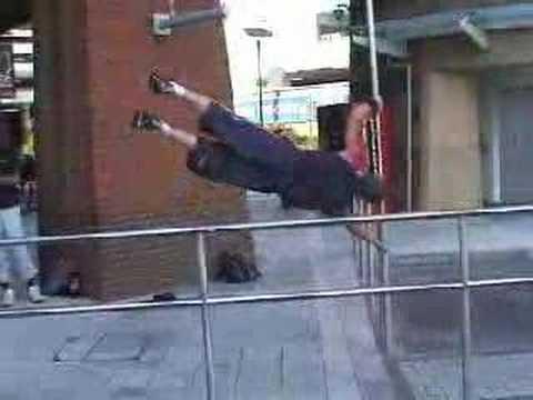 Crazy jumping skills