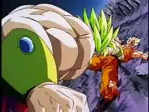 Broly Vs. Goku video