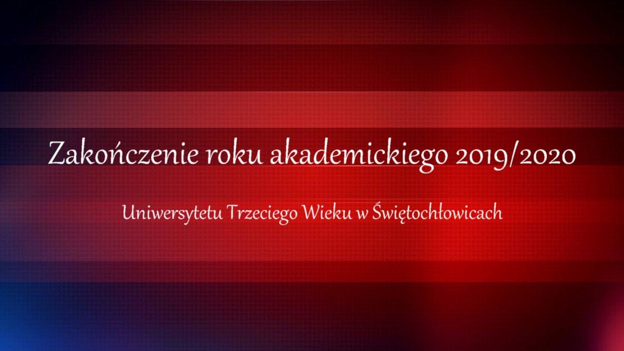Zakończenie roku akademickiego