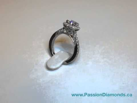Diamond Engagement Ring by Passion Diamonds in Vancouver