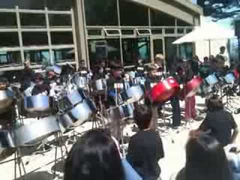 Steel Drums at The Nueva School 2010