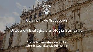 Graduación del Grado en Biología y Biología Sanitaria · 15/11/2019
