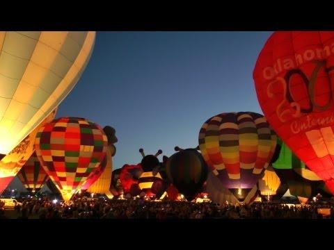 Albuquerque International Balloon Fiesta, New Mexico,  October 2012 in HD