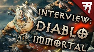 Blizzard believes in Diablo Immortal (Interview: Blizzcon 2018)