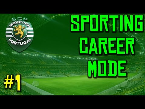 FIFA 15 Career Mode: Sporting CP - Episode 1 - Club Philosophies