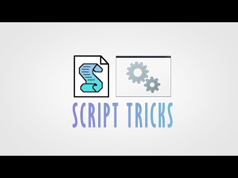 Windows Tricks With Scripts