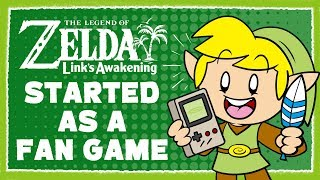 Link's Awakening Started as an Unofficial Fan Game