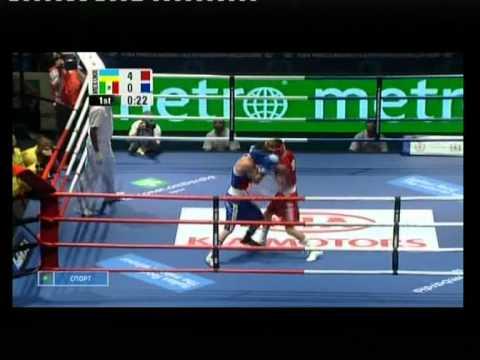 Ломаченко - Вальдес ЧМ 2009 бокс полуфинал 1