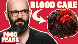 Binging with Babish Freaks out Eating Pork Blood
