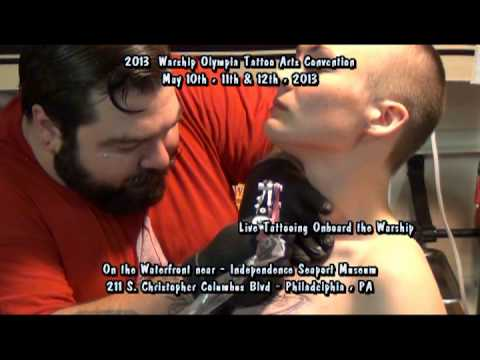 2013 Warship Olympia Tattoo Arts Convention 50sec promo