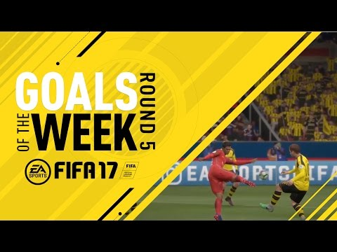 FIFA 17 - Goals of the Week - Round 5