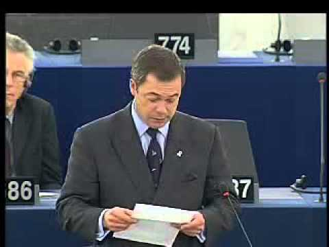 EU Corruption - Jos Manuel Barroso Getting Dressed Down
