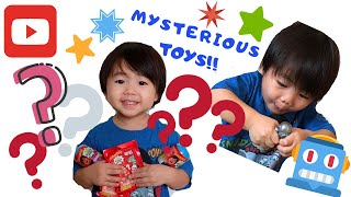 Ryan ToysReview Mysterious Squishy Toy Revealed!