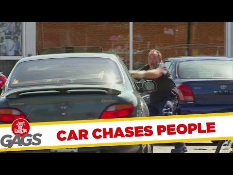 Self Driving Car Chases Good Samaritans