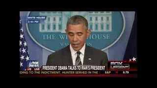 President Obama Makes a Statement  9/27/13