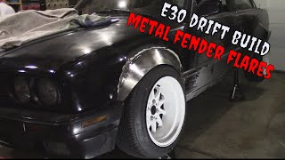 Custom Steel E30 Widebody Kit  Ep.1   Metal Fender flares   Pt.1