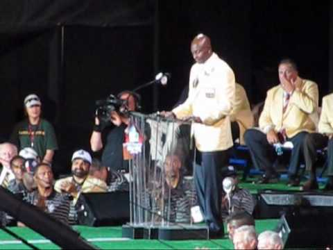 Jerry Rice Inducted Into The Pro Football Hall Of Fame ( part 3 )