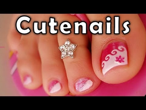 Pedicure tips & toe nail art for perfect toenails by cute nails