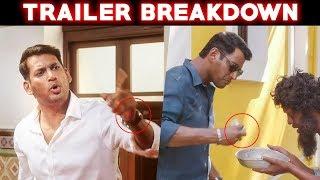 அதுக்குனு அப்படியேவா!!   Temper Remake Ayogya Trailer Review   Vishal   Rashi Khanna   VENKAT MOHAN