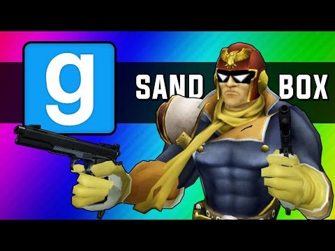 Gmod Sandbox Funny Moments - Go Home Go Bed, Helicopters, Fast & Slow Motion Mod (Garry's Mod)