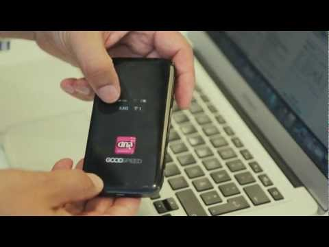 Goodspeed Mobile Hotspot Makes Roaming Charges History? - Demo
