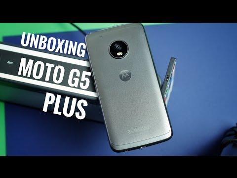 UNBOXING: Moto G5 Plus (2017) En Español