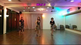 The End Of The World Line Dance - Kim-Fundanzer (Walk-through)