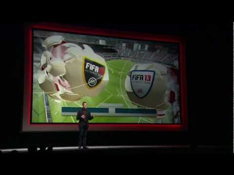Watch as EA presents FIFA 13 in this live recording from the 2012 gamescom press conference in Cologne, Germany.