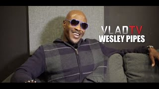 Wesley Pipes on Doing Scene With 76-Year-Old
