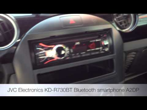 2006 Mazda Miata MX5 New Radio JVC KD-R730BT Bluetooth ipod
