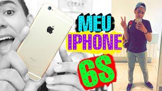 Meu iPhone 6s - Como juntei dinheiro, apps, capinha e +