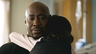 "Lucifer 2x13 Trixie Hugs Amenadiel "" A Good Day to Die ""Season 2 Episode 13"
